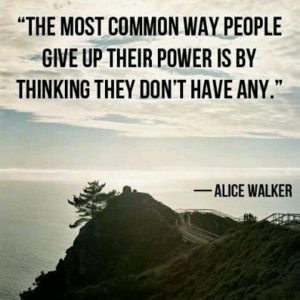 Are you using your personal power